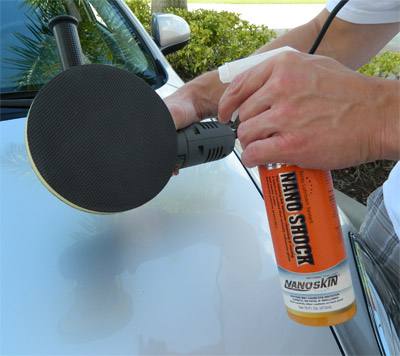 Only use an approved lubricant with the Nanoskin Autoscrub System.  Nanoskin Glide and Shock both work well