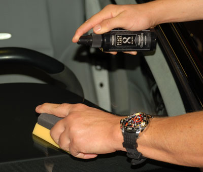 Black Label Diamond Glass Coating is incredibly easy to apply