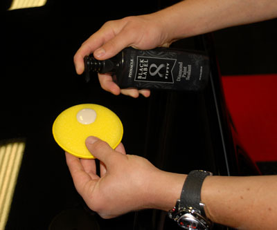 Black Label Diamond Paint Sealant is extremely easy to apply