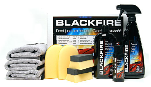 BLACKFIRE Crystal Coat Paint Coating Kit contains everything you need to coat your vehicle
