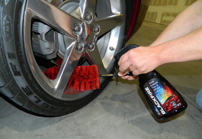 BLACKFIRE Total Eclipse Wheel Cleaner