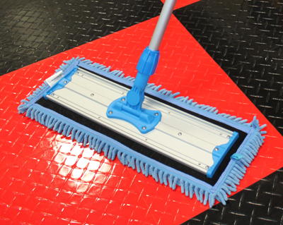The Chenille Microfiber Mop Pad is perfect for wet mopping!