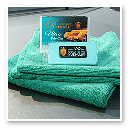 Auto detailing clay is similar to the stuff you played with as a kid, but the clay used for detailing is usually much more elastic, especially in the case of Pinnacle Ultra Poly Auto Detailing Clay Bar.