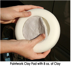 Paintwork Clay Pad