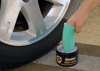 Apply Detailer's Pro Series Wheel Glaze to all types of wheels.