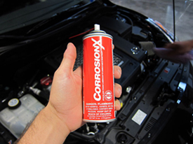 CorrosionX has many applications under the hood!