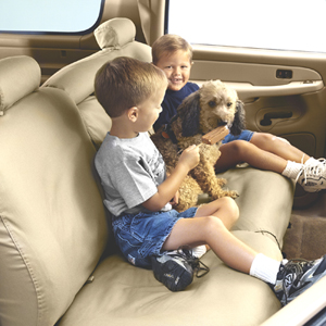 Covercraft Seat Savers protect car seats from kids and pets.