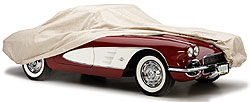 A Covercraft custom car cover is a great way to protect classic cars.
