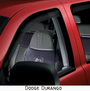 WeatherTech Side Window Deflectors dark available for trucks and suv's