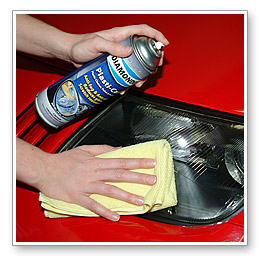 Maintain the clear shine of your polished plastic headlights with Diamondite Plasti-Care Plastic Cleaner, Polish & Protectant. This aerosol spray cleans and shines plastic headlight covers, and it leaves a anti-static coating to keep them clean longer.