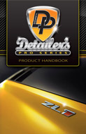 This 32-page book contains information about all the new DP Auto Detailing products and pictures of them in action. Learn about the history of the line and how we've updated it to reflect today's car care technology. Read about how these products can solve common and unique car care problems and prevent new ones.