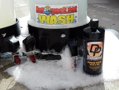 DP Power Wash cleans, shines, and protects in one step!