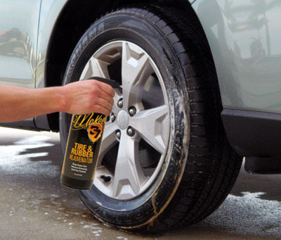 Before applying McKee's 37 Tire  Coating you MUST use McKee's 37 Tire & Rubber Rejuvenator first