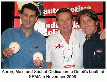 Aaron, Max, and Saul at SEMA 2006.