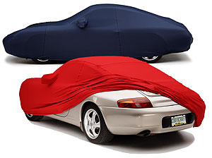 The FormFit cover creates a sexy silhouette on sports cars.