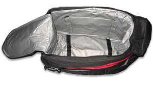 The FLEX bag has a large, cushioned pocket for your polisher and supplies.