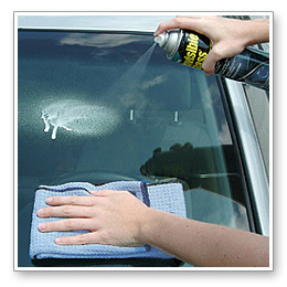 auto glass cleaning facts tips learn about glass cleaners towels and water spot removal. Black Bedroom Furniture Sets. Home Design Ideas