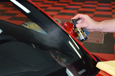 McKee's 37 Glass Coating is very easy to apply