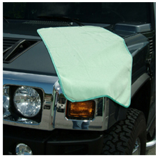 Use the Guzzler microfiber drying towel to dry your vehicle after using Griot's Garage Car Wash.