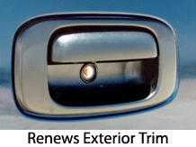Restores exterior trim to new!
