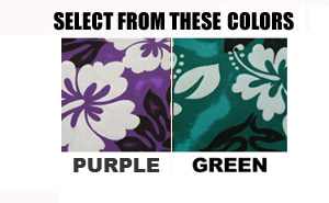 Custom Hawaiian Seatcover Colors