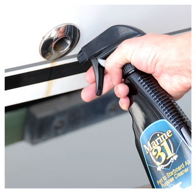 Marine 31 Port to Starboard All Purpose Cleaner safely cleans virtually all marine surfaces!