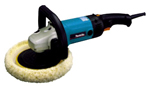 The Makita 9227C easily removes swirls and scratches!