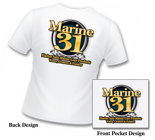 Stay cool and look great in the Marine 31 t shirt!