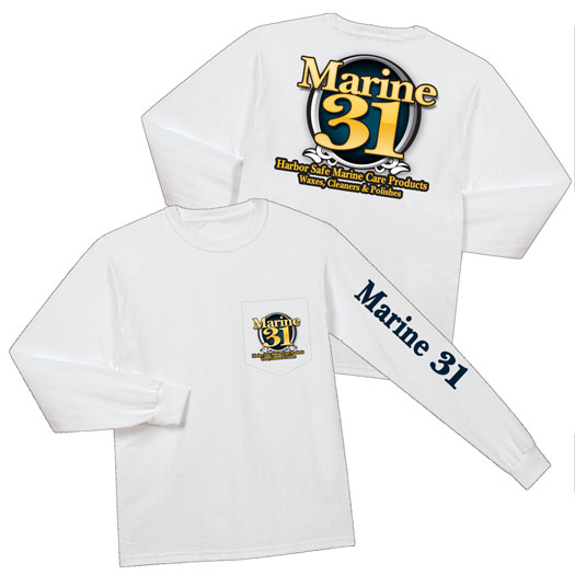 Stay warm and look great in the Marine 31 long sleeve shirt!