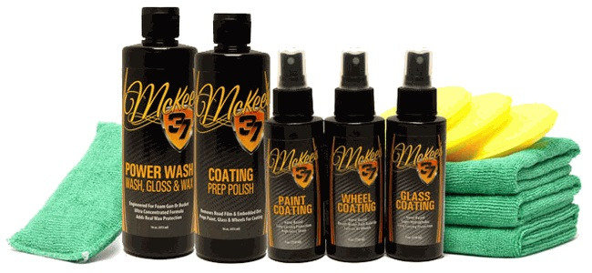 McKee's 37 Paint Coating Kit contains everything you need to coat your vehicle