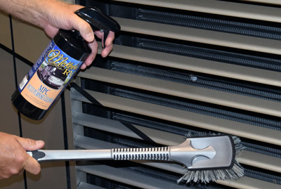 how to clean an rv exterior