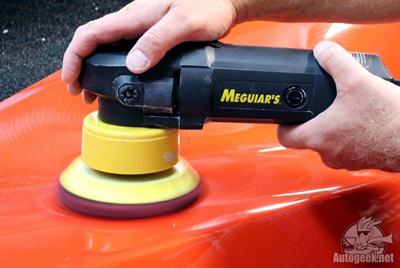 Meguiars DA Foam Discs rotate better on a DA Polisher to improve results