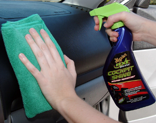 meguiars nxt generation cockpit shine aka meguiars tech protectant is a spray on protectant. Black Bedroom Furniture Sets. Home Design Ideas