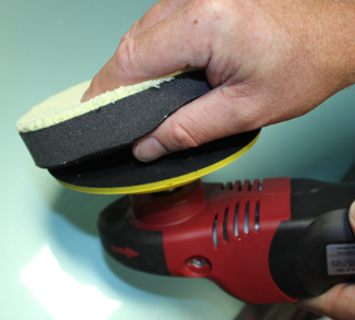 Ultra-Fiber Rotary Microfiber Pads provide a smooth buffing experience