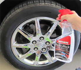 Mother Back to Black Tire Shine