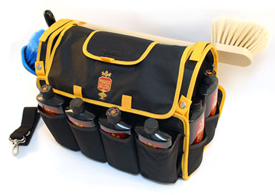 The Pinnacle Detailer's Bag holds all your detailing supplies!