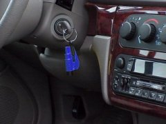 The Res-Q-Me can be disconnected from the keys without removing the keys from the ignition.