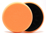 The Scholl Concepts Orange Polishing Foam Pad is designed to remove light imperfections while creating a mirror finish