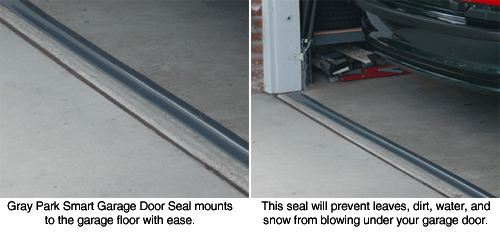 Park Smart Tsunami Seal Garage Door Seal Seal Out The Elements With This Permanent Garage Door