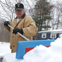 SNOBRuM is perfect for snow removal on any vehicle.