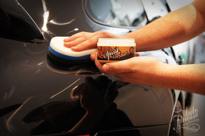 Auto Finesse Spirit Car Wax is easy to apply