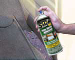 Use Max Pro Stick 95 Spray Trim Adhesive to replace loose trim pieces inside your vehicle.