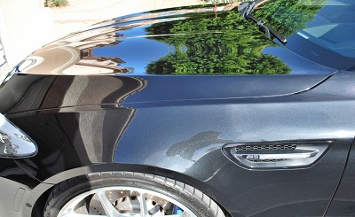 Wolfgang Uber Ceramic Coating produces a very glass finish