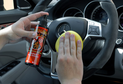 Wolfgang CockPit Trim Sealant protects all interior surfaces including plastics