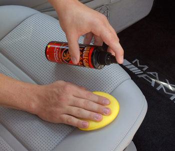 Wolfgang CockPit Trim Sealant will keep leather surfaces soft and supple