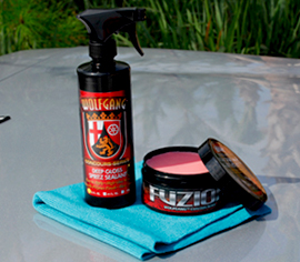 Apply Wolfgang Deep Gloss Spritz Sealant regularly to maintain the gloss and protection of Wolfgang Fuzion between applications.