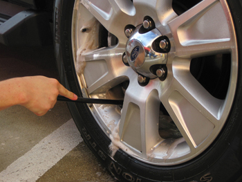 Wheel Woolies make wheel cleaning effortless!