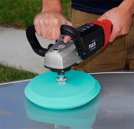Use a cutting or light cutting pad to adjust the leveling ability of Wolfgang Total Swirl Remover 3.0.