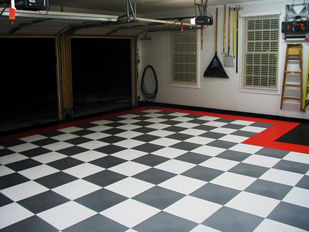 Racedeck XL garage flooring