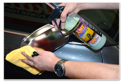 XMT 360 Spray Wax can be used to protect all exterior surfaces